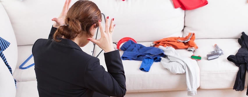 5 motivos por los que el desorden perjudica la salud