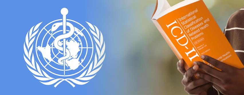 OMS: Nueva Clasificación Internacional de Enfermedades