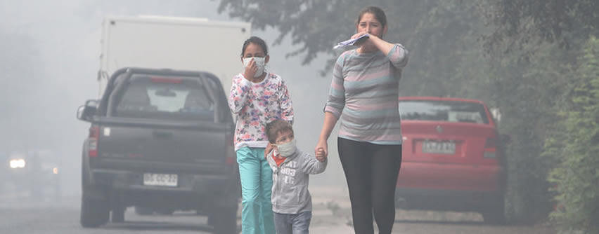 OMS: más del 90% de los niños del mundo respiran aire tóxico a diario