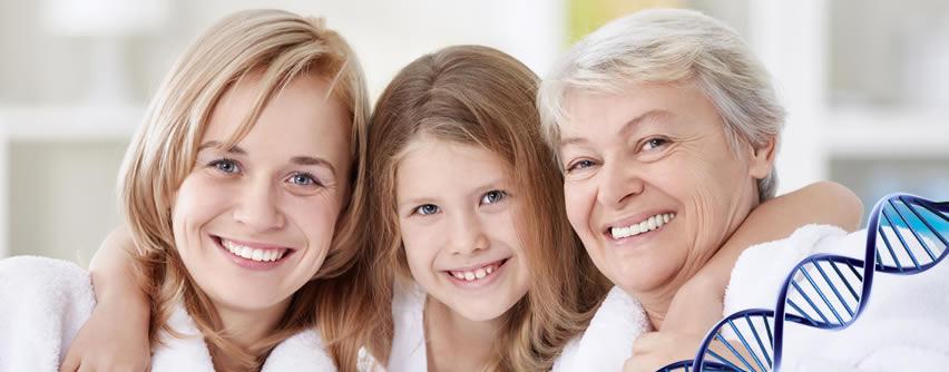 Cómo afectan los genes a la belleza facial