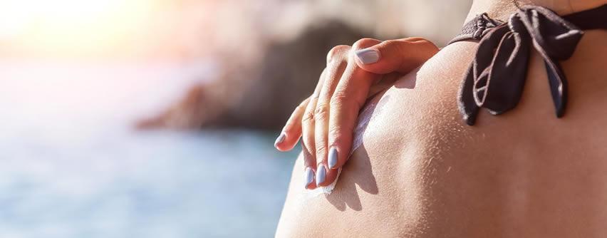 Protector solar o crema hidratante con SPF