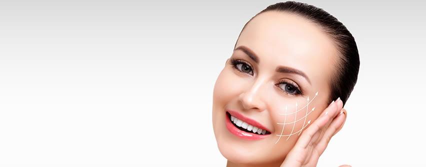 Hilos de sustentación para evitar la flacidez facial