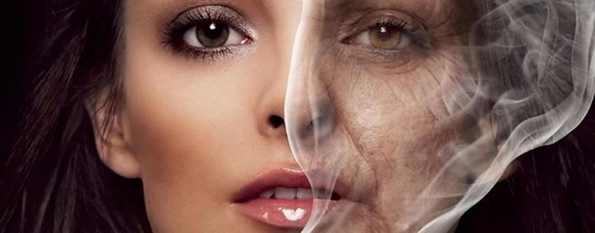 Así el tabaco envejece tu piel