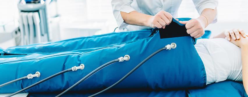 Presoterapia para el tratamiento de úlcera venosa en piernas
