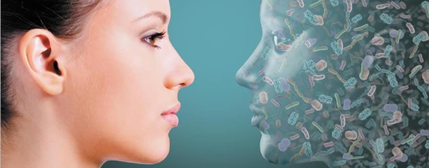 Papel potencial del microbioma en el acné