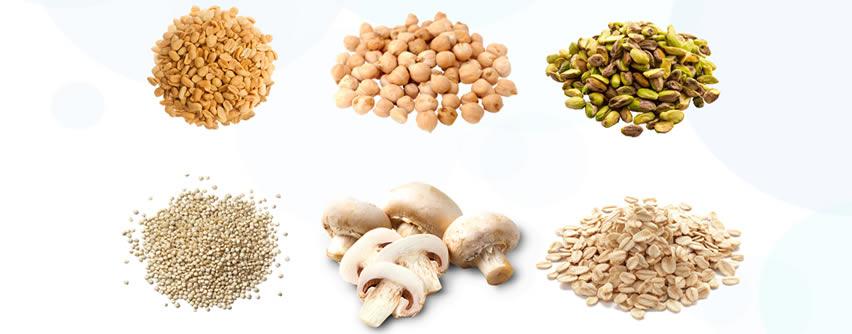 Los alimentos vegetales con más proteínas